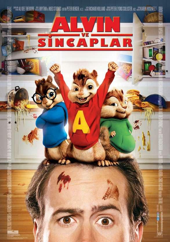 Alvin ve Sincaplar - 2007 BRRip XviD - Türkçe Dublaj Tek Link indir