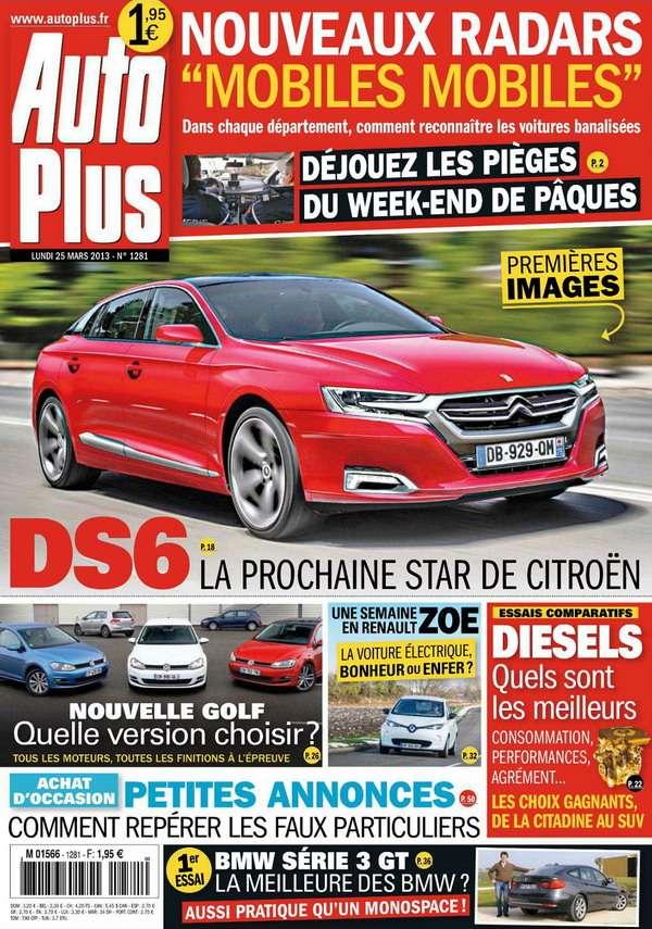 Auto Plus N°1281 du 25 Mars 2013