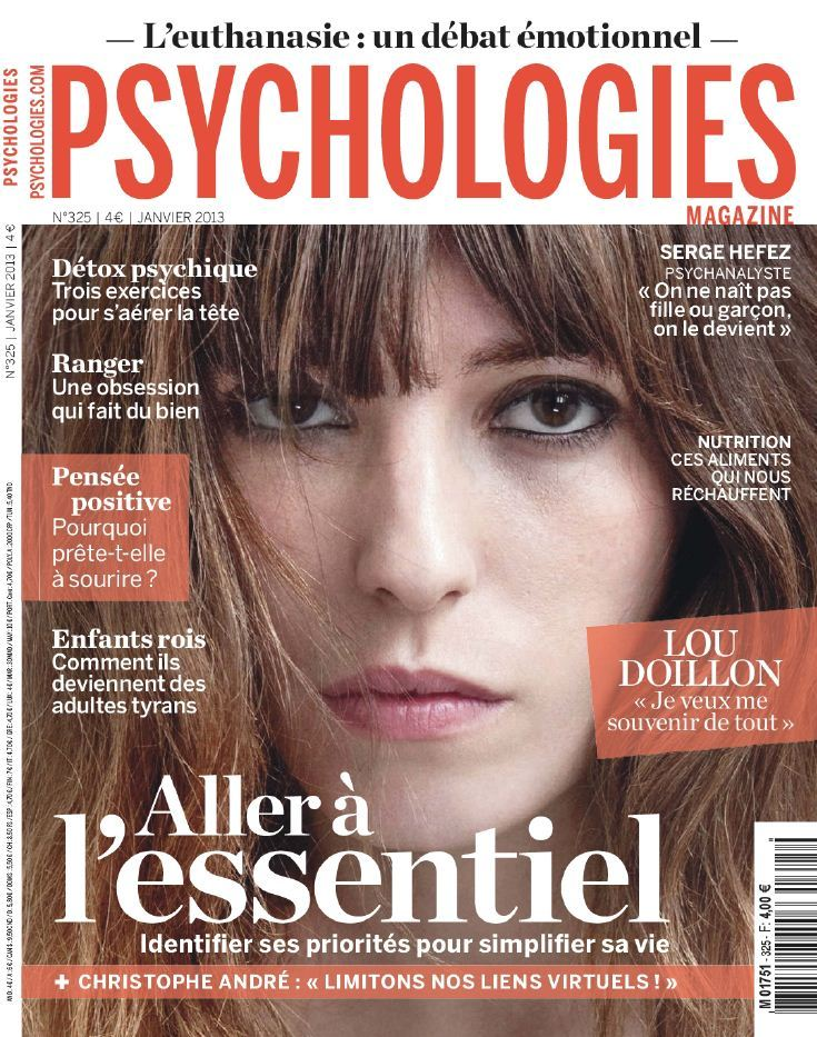 Psychologies Magazine N°325 Janvier 2013