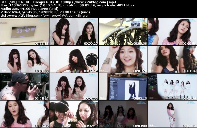 [MV] C REAL   Danger Girl (HD 1080p Youtube)