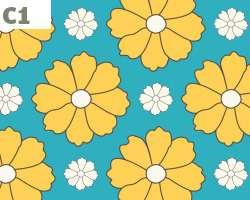 Yellow Daisies Pattern