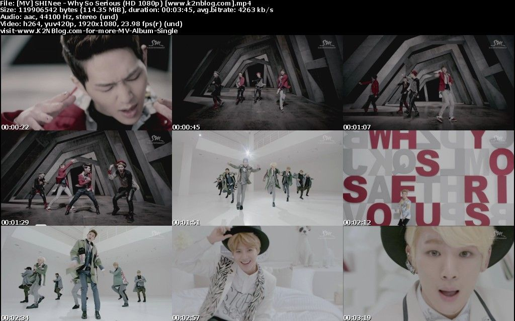 [MV] SHINee - Why So Serious [HD 1080p Youtube]
