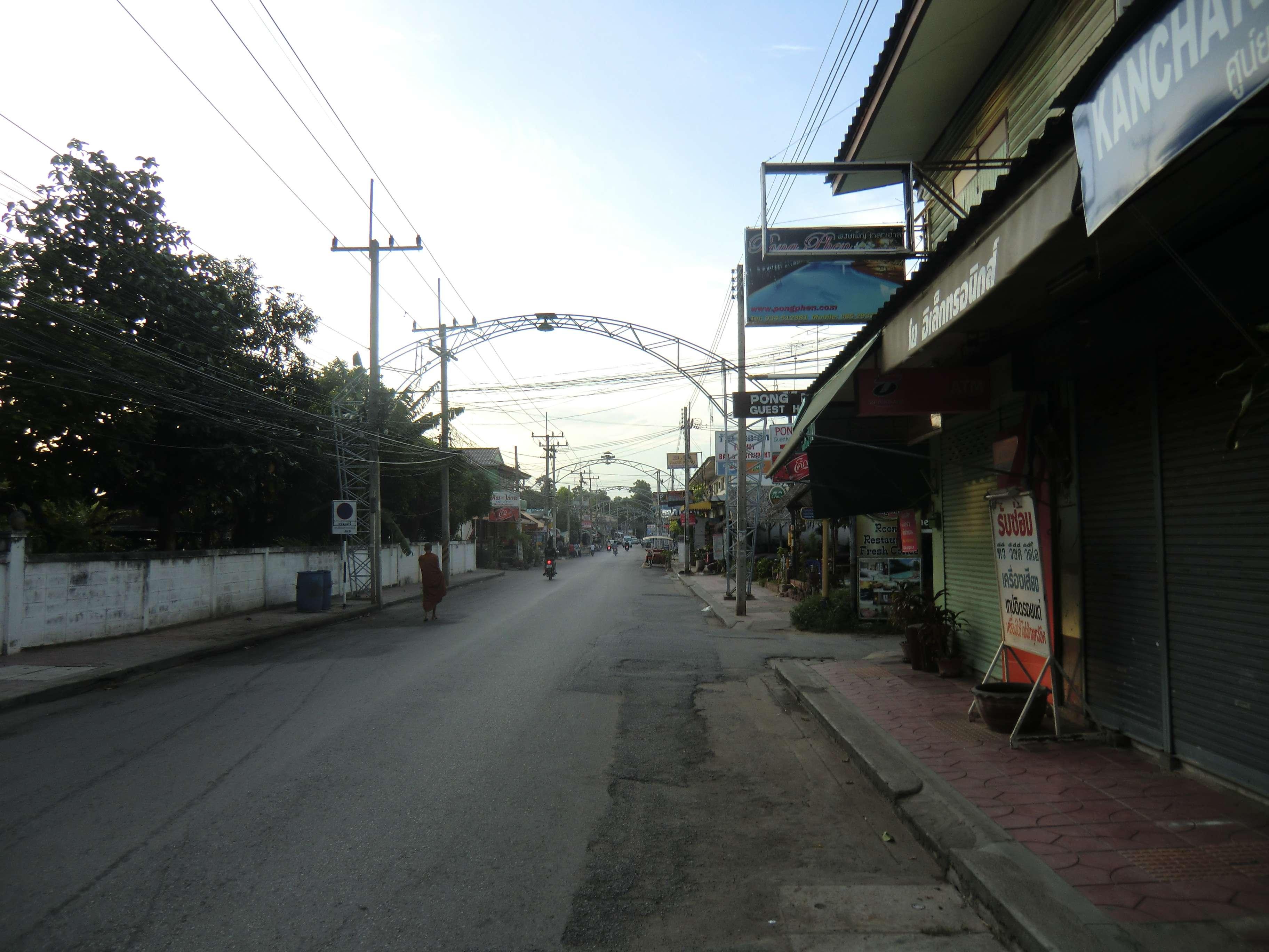 07.00 Uhr in Kanchanaburi