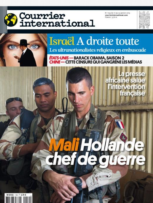 Courrier International N°1159 du 17 au 24 janvier 2013