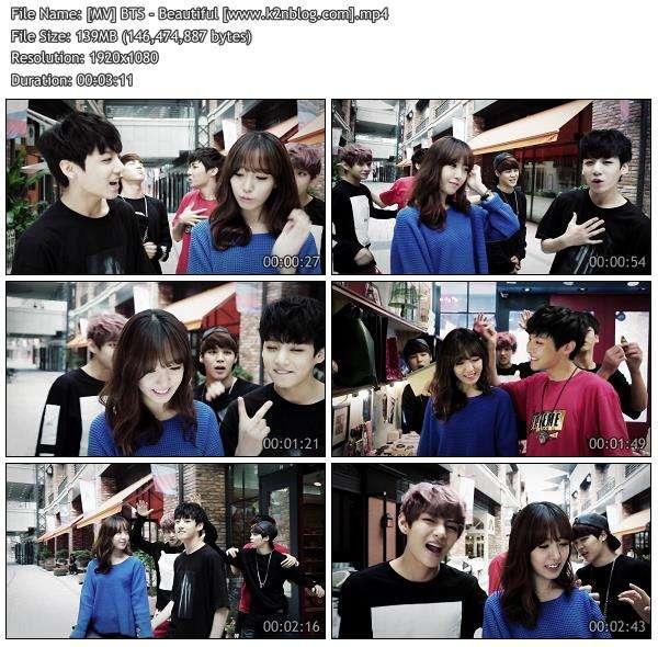 [MV] BTS (Bangtan Boys)  - Beautiful [HD 1080p]